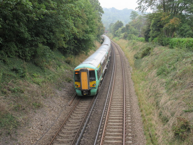 Train to Oxted (2)