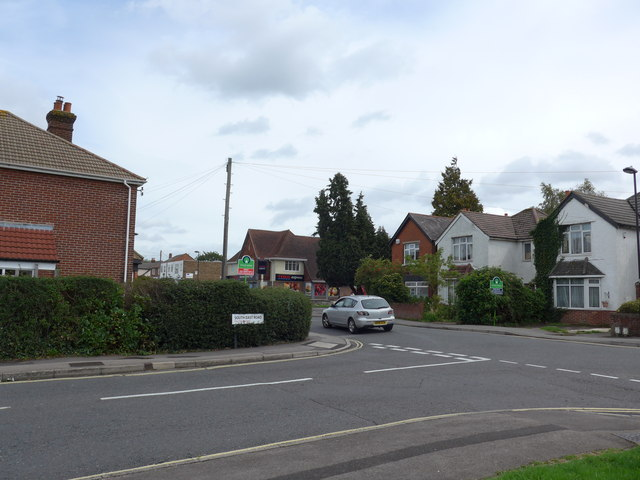 Looking from South East Road into Butts Road
