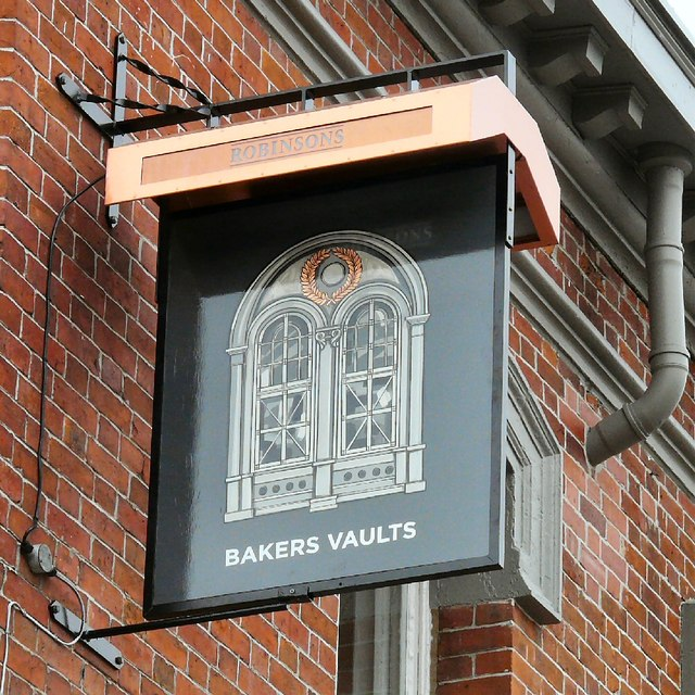 Sign of the Bakers Vaults