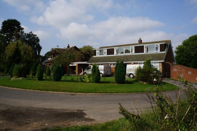 Houses on Third Lane, Ashby Cum Fenby