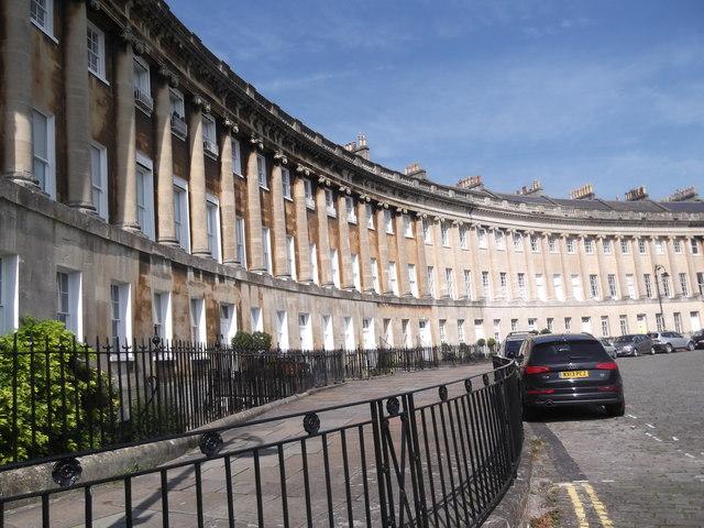 Houses, Royal Crescent, Bath