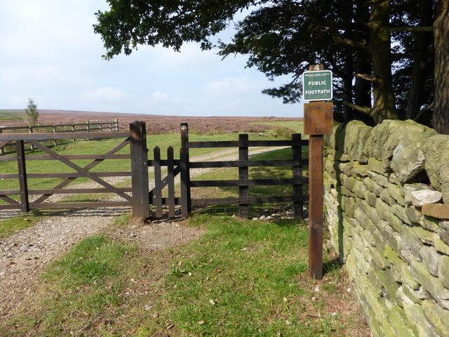 Footpath to Ewden Beck