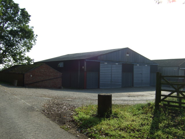 Farm buildings off Back Lane