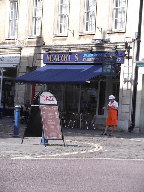 Seafoods, Kingsmead Street, Bath