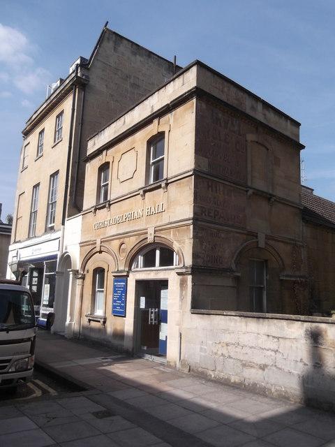 Christadelphian Hall, New King Street, Bath