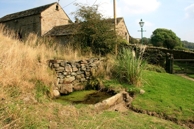 Water trough at Cote House