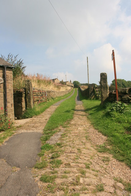 The track to Cote House
