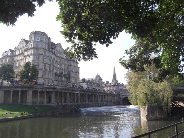 Looking across the Avon, Bath