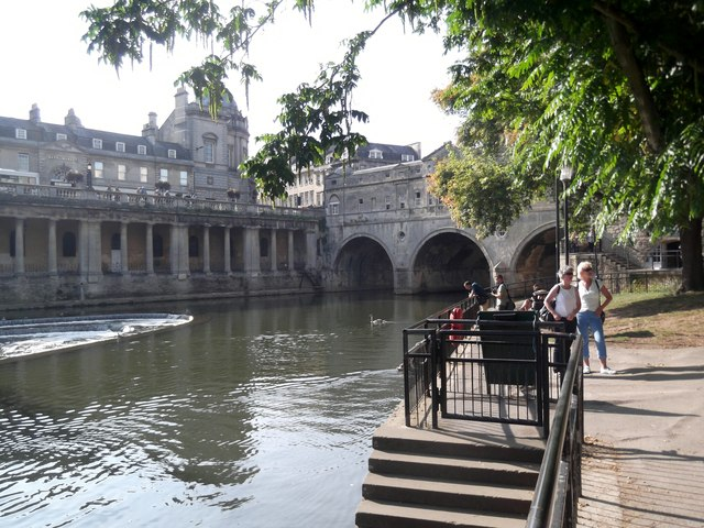 Docking point, River Avon, Bath