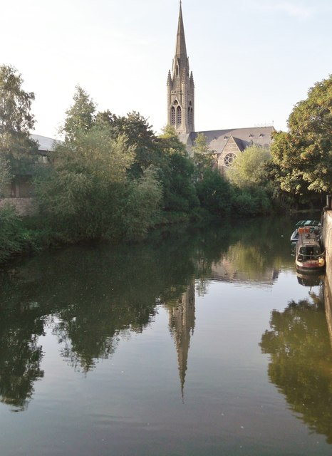 Reflection, River Avon, Bath