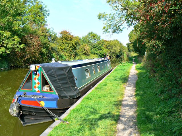 Narrowboat 'Titan 69930', Kennet and Avon Canal, Wootton Rivers, Wiltshire