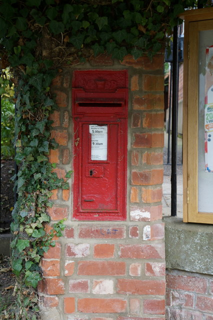 Victorian post box, East Ravendale