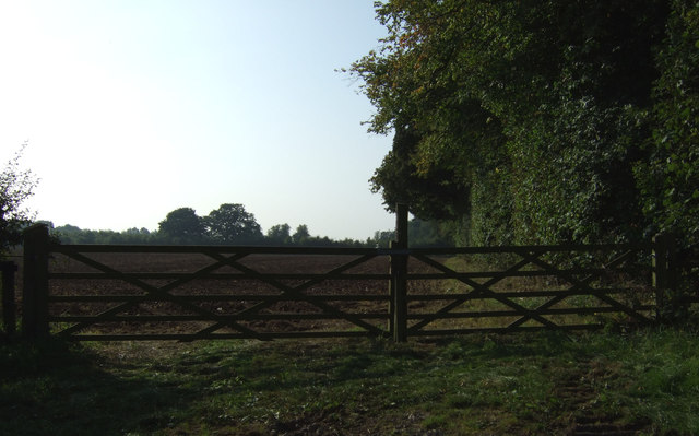 Field entrance off Back Lane