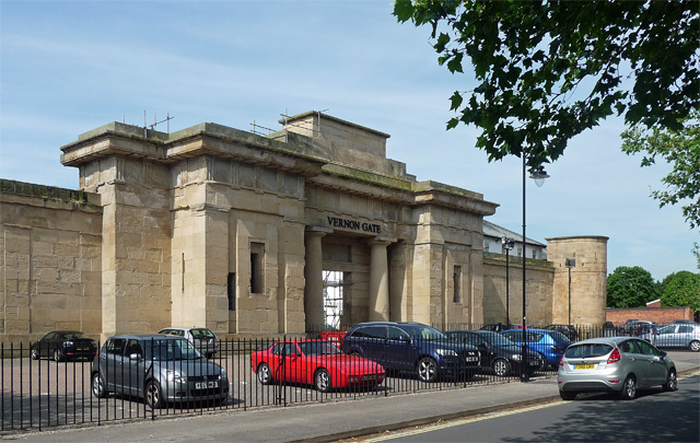 Former gaol, South Street, Derby