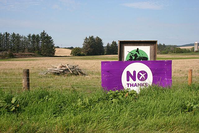 No Campaign Sign