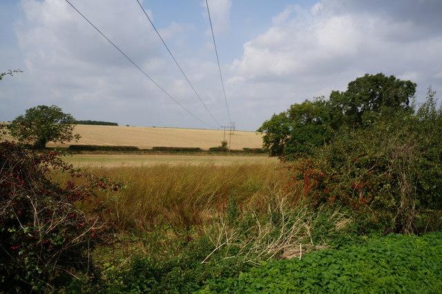 Power lines near  West Ravendale