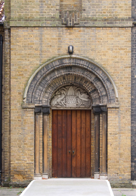 St James the Less, Bethnal Green - Doorway