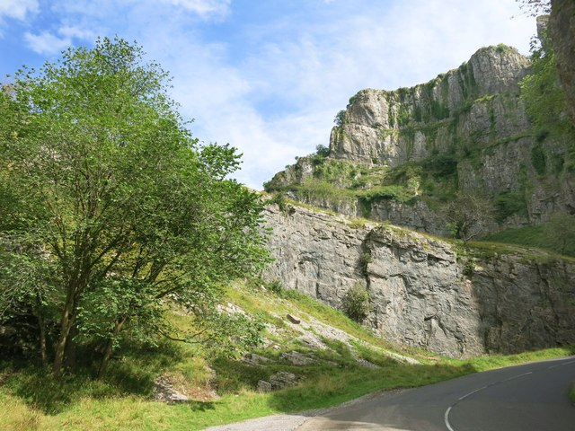 Cliffs in Cheddar Gorge