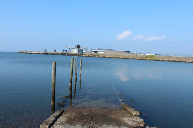 Slipway at Stranraer Harbour
