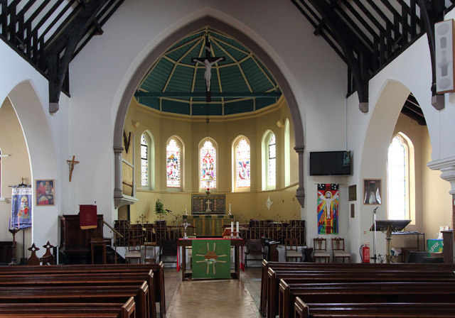 St Mark, Albert Road, South Norwood - East end