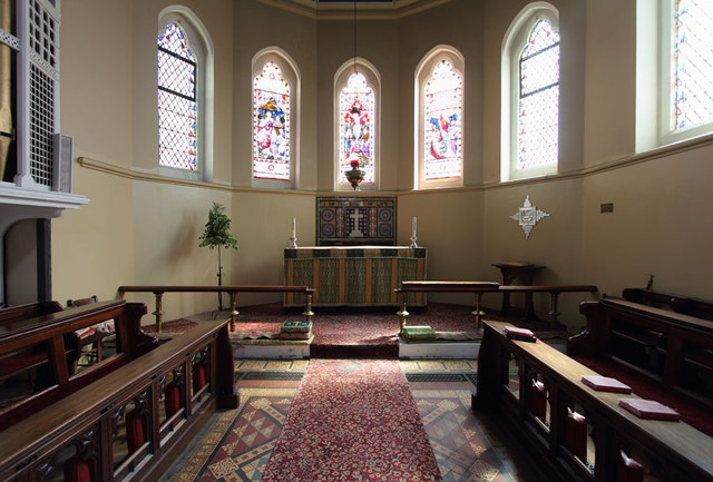 St Mark, Albert Road, South Norwood - Chancel