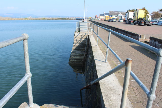 Harbourside Steps, Stranraer