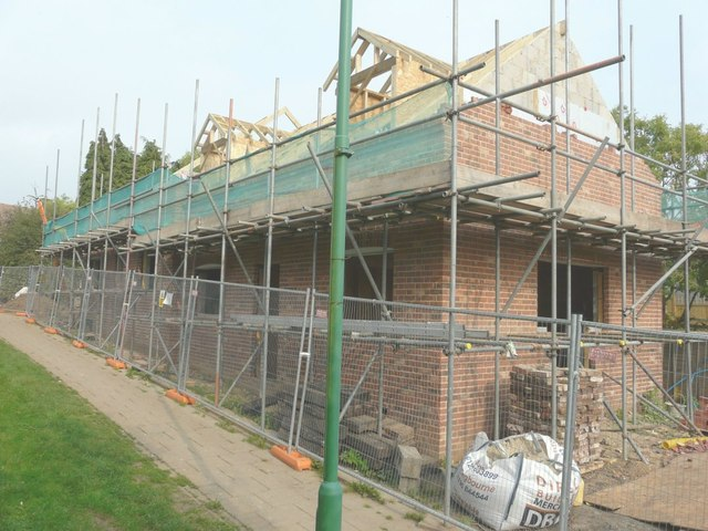 Erection of a pair of semi-detached houses