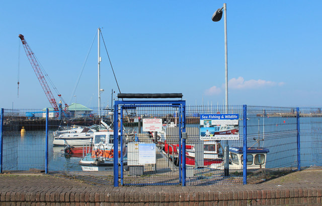 Gateway to Pontoon, Stranraer Harbour