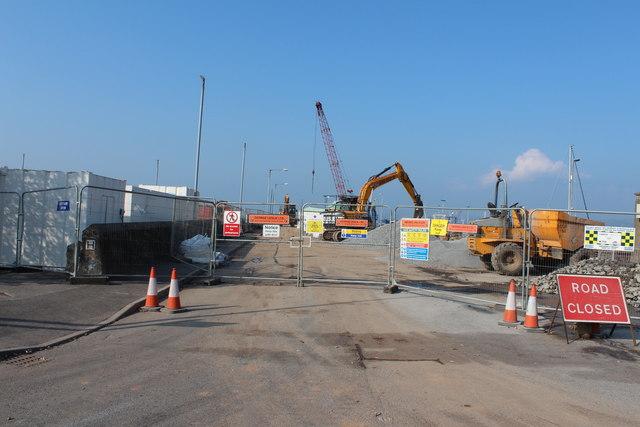 Construction Work, Stranraer Harbour