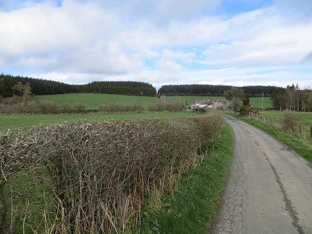 Road near Pen-y-cwm