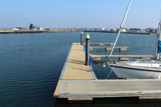 Pontoon at West Pier, Stranraer