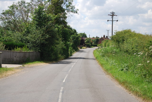 Road to Tattingstone