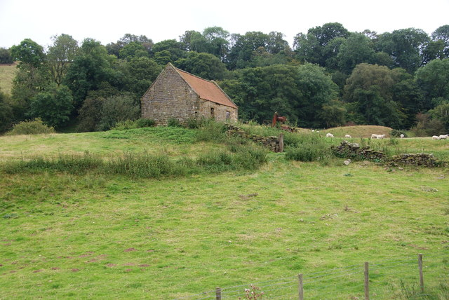 Barn in the Esk Valley