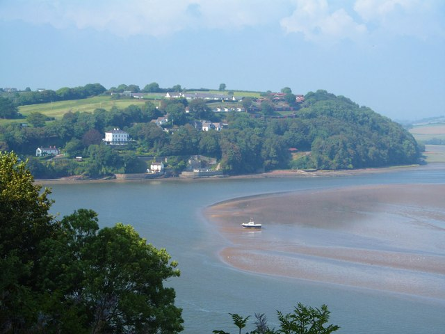 The Taf at Laugharne