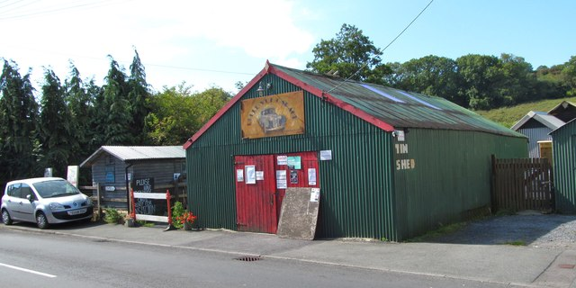 The Tin Shed at Laugharne