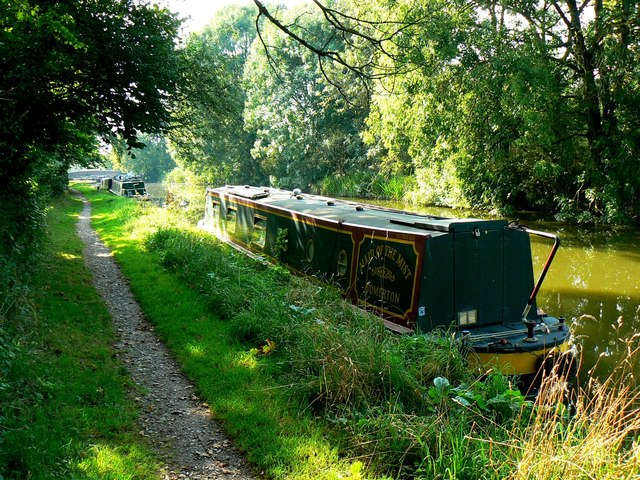 Narrowboat 'Maid of the Mist', Kennet and Avon Canal, east of Heathy Close, Wiltshire