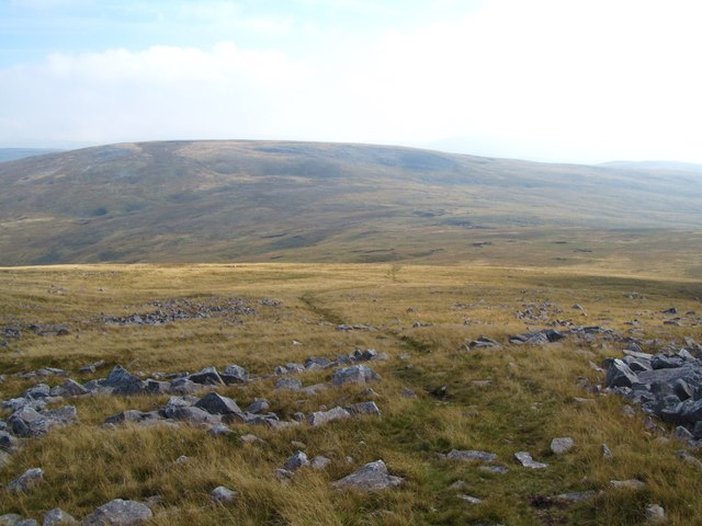 Looking east along the Beacons Way
