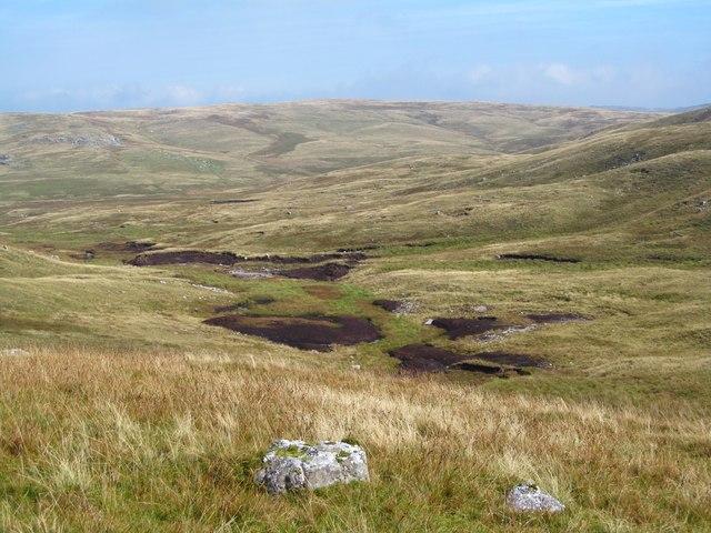 A peaty landscape