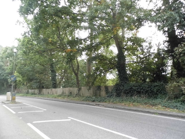 The A1000 at Brookmans Park