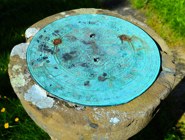 Sundial, St Michael, Edgton