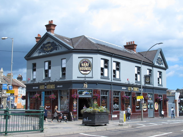 The Hare and Hounds, Preston Circus, BN1