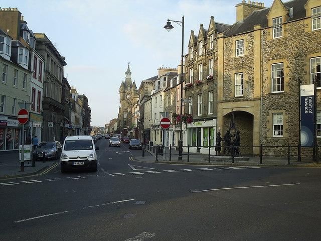Hawick High Street