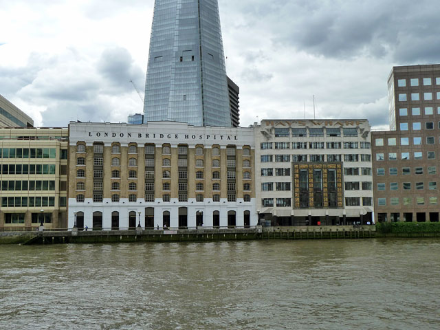 London Bridge Hospital and Hays Wharf