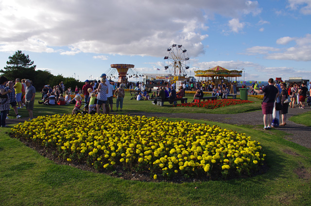 Promenade gardens, Morecambe
