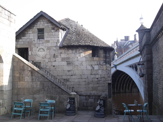 The Perky Peacock Coffee Shop, Barker Tower, Lendal Bridge, York