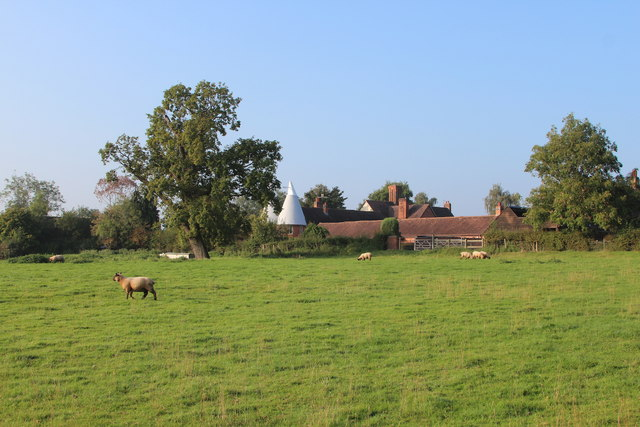 Field by Colletts Green Farm