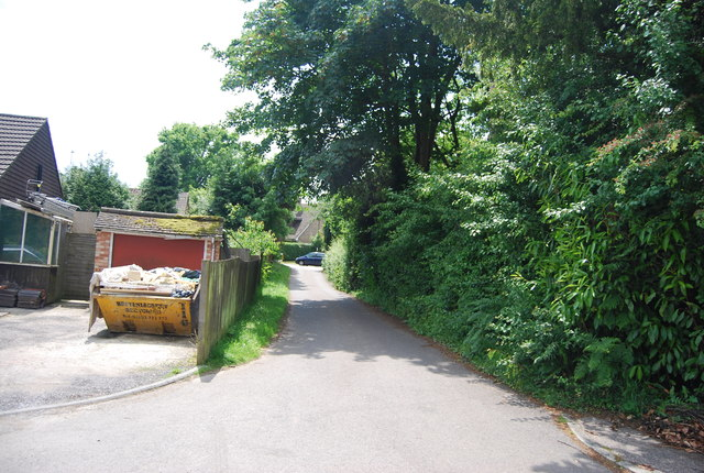 Lane off Woods Hill Lane