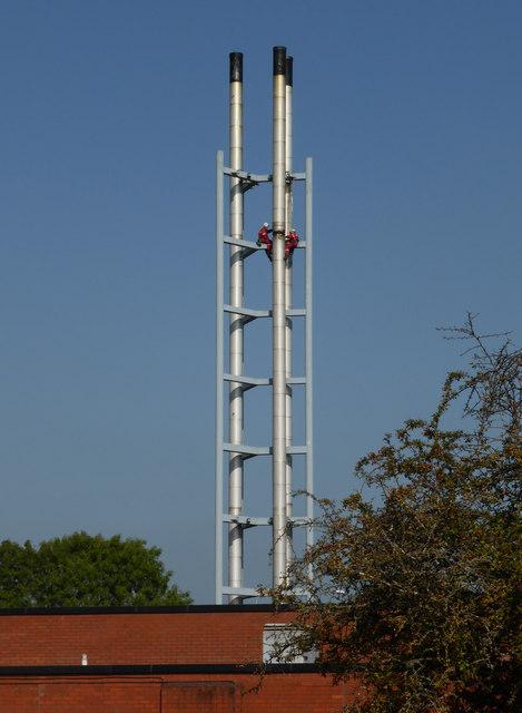 Worcestershire Royal Hospital - chimney