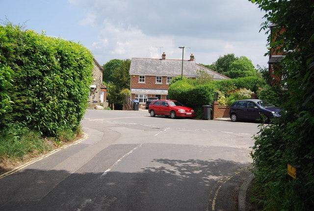 Road junction, Ashurst Wood