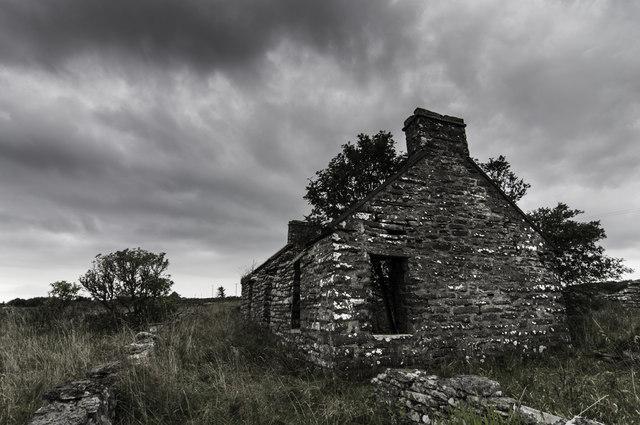 Ruin near Dunbeath